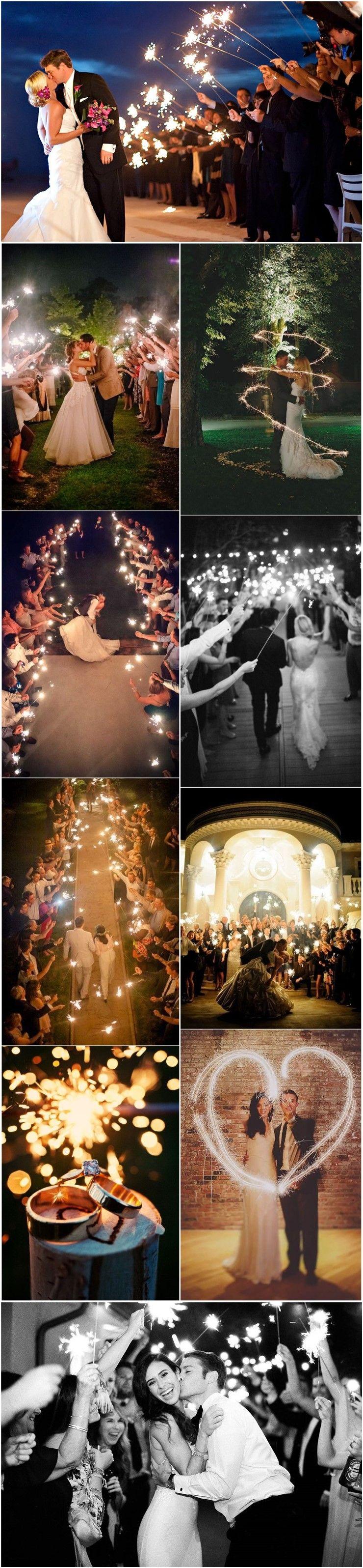 20 Magical Wedding Sparkler Send Off Ideas For Your Wedding Wedding Sparklers Sparkler Exit Wedding Magical Wedding