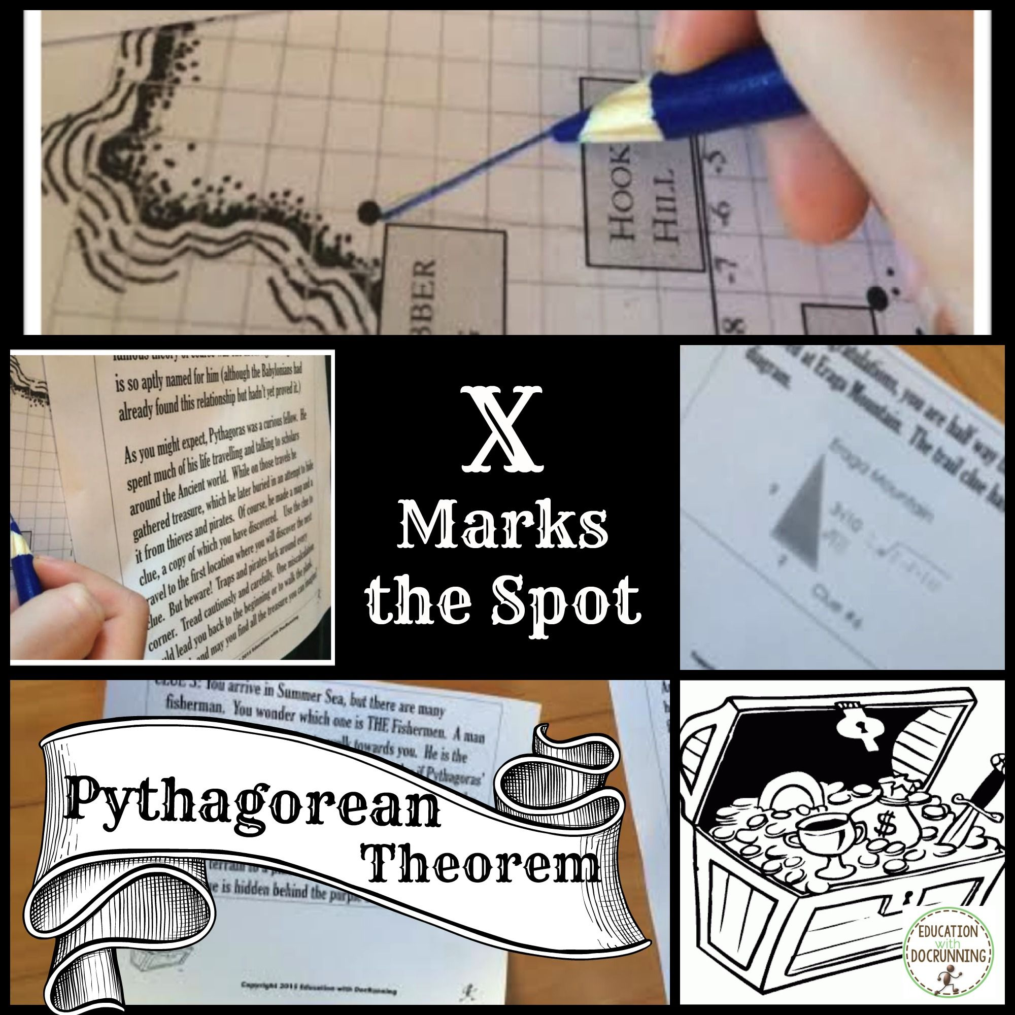 Pythagorean Theorem Project Pirate Treasure Hunt