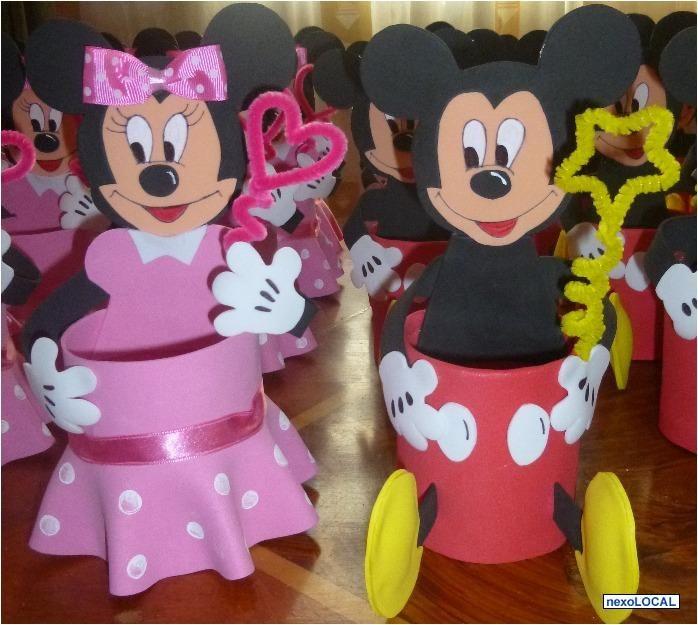 Sorpresas Minnie Mouse En Foami Imagui Frascos Y Latas Decoradas