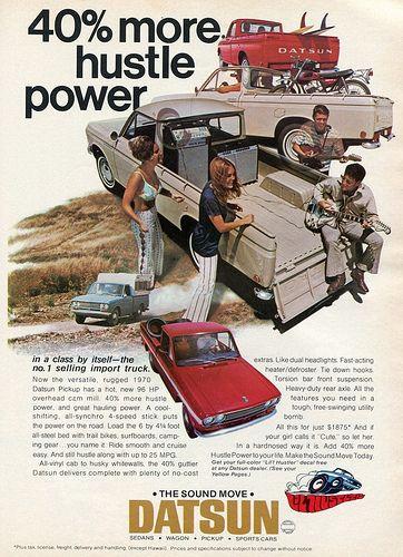 1970 Datsun Pickup Trucks Advertising Hot Rod Magazine April 1970 Datsun Pickup Datsun Pickup Trucks