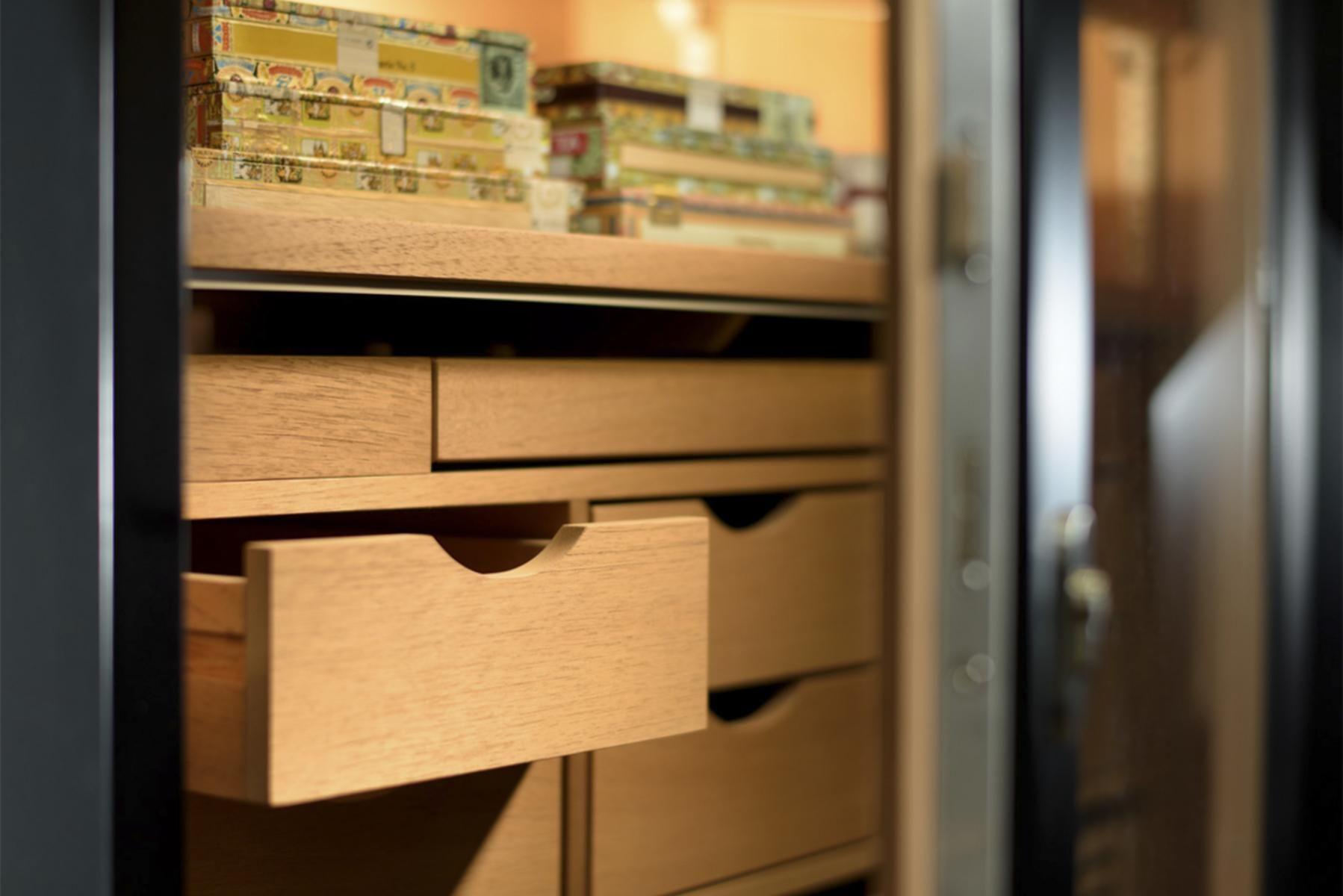 Gerber Humidor No 1 Innenraum Aus Spanischer Zeder Zedernholz Zigarren Holz