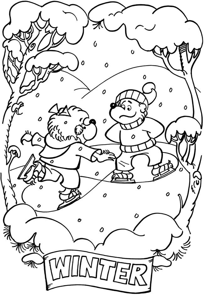 Welcome To Dover Publications Bear Coloring Pages Coloring Pages Berenstain Bears