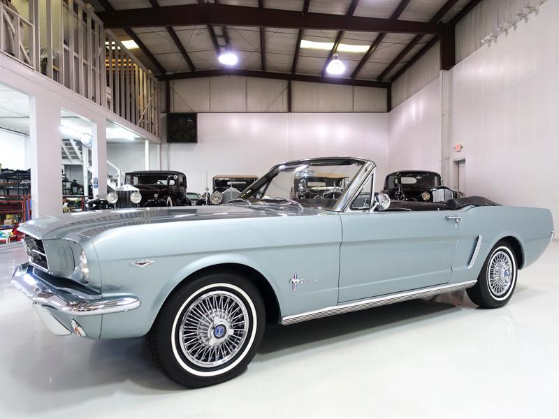 1965 Ford Mustang Convertible for Sale at Daniel Schmitt & Co.