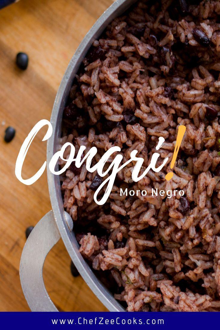 Congri | Moro Negro | Made To Order | Chef Zee Cooks #cubanrice