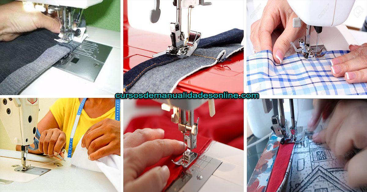 Aprende como coser tejido de punto a maquina en 2020