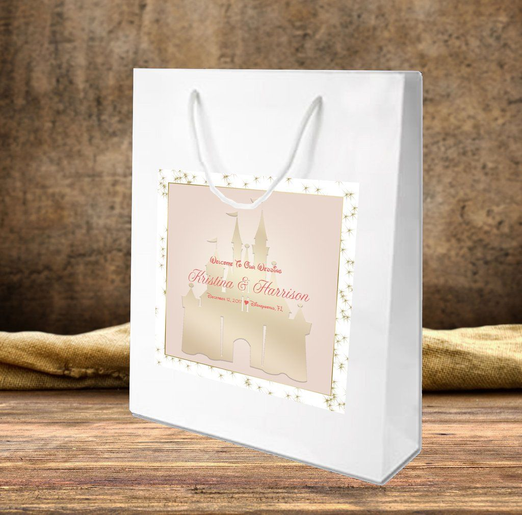 Disney Castle Welcome Bags for hotel guests hospitality gift bags or ...