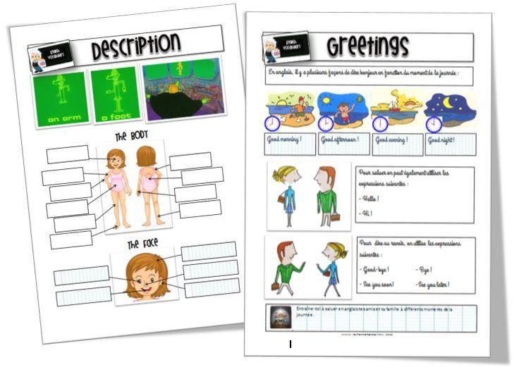 Favori Traces écrites pour le cahier d'anglais | Anglais, Les cahiers et  DH22