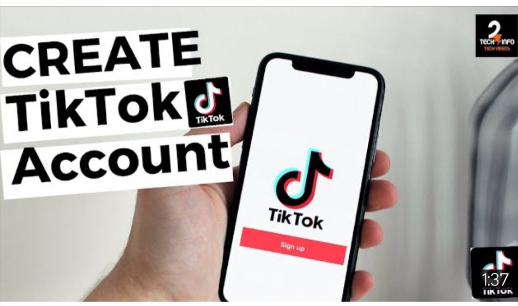 How To Create Tiktok Account In 2 Minutes Cool Gifs Video Editor Video