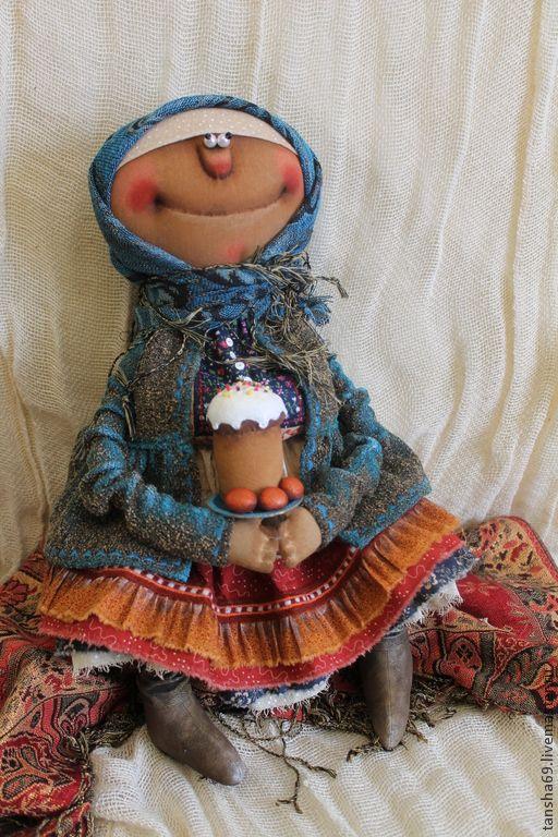 Пасхальное Воскресенье - разноцветный,примитивная кукла,примитив,текстильная кукла