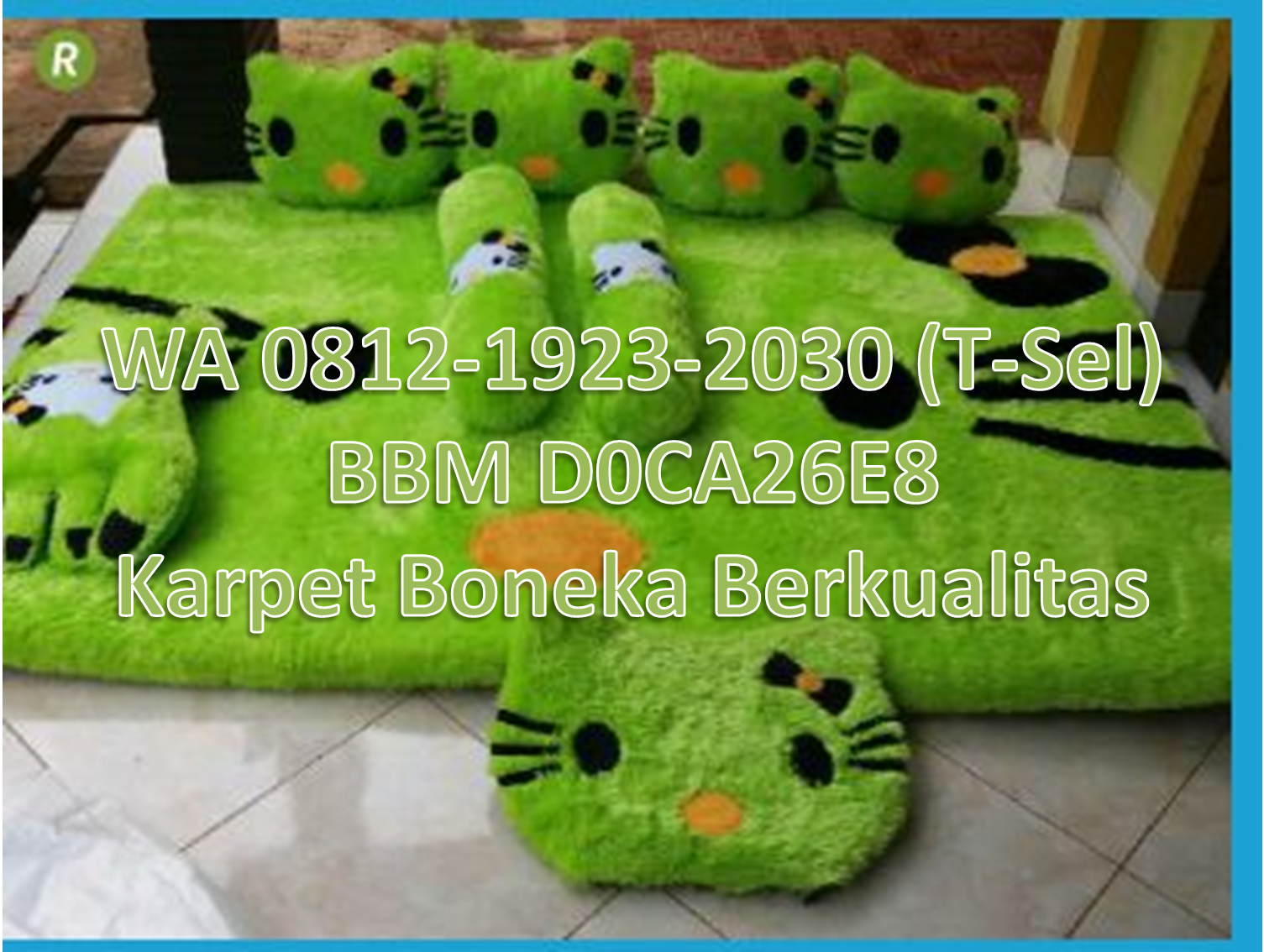 Karpet Karakter Terbaru Hello Kitty Models And Kitty