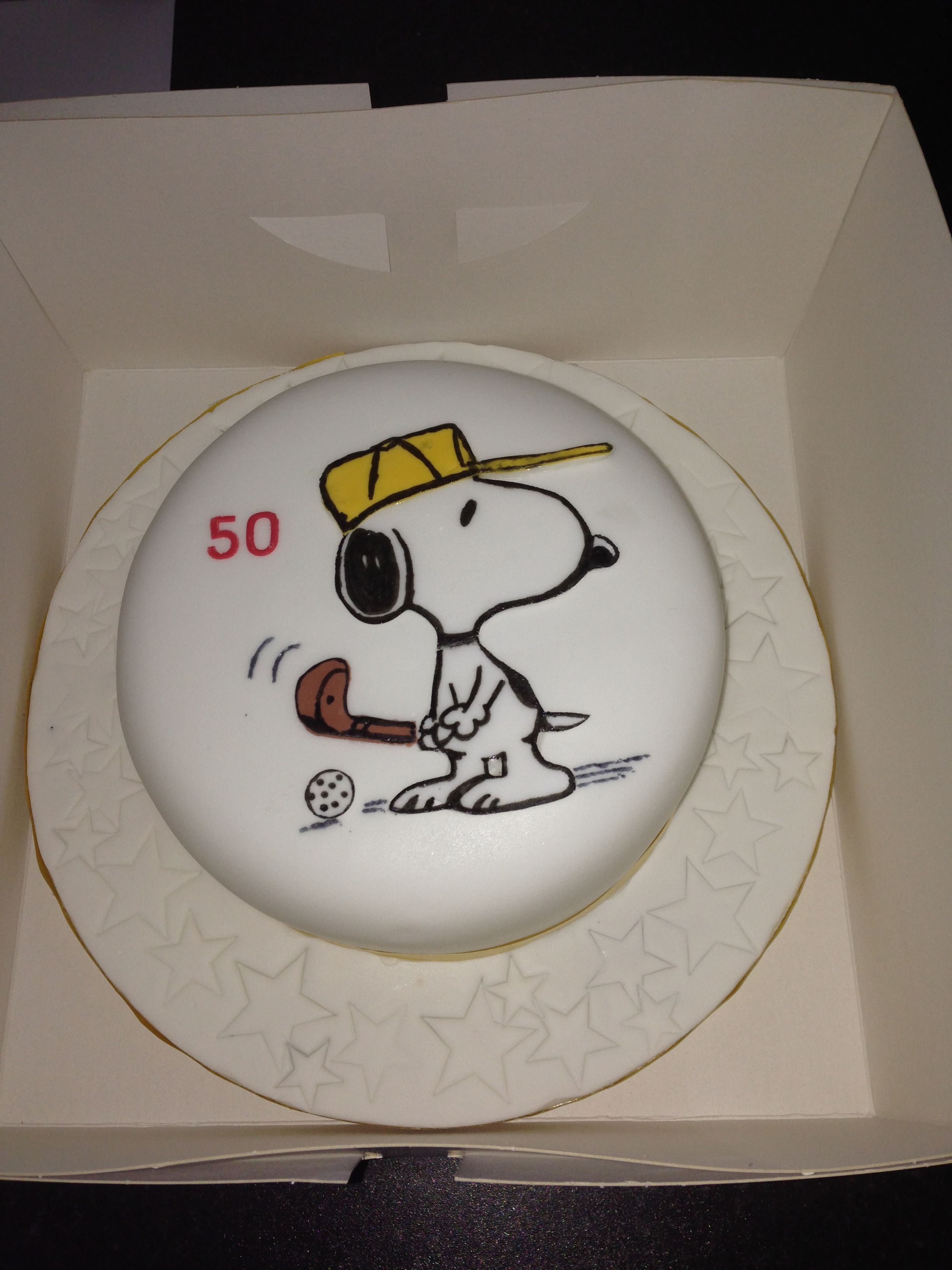 Snoopy Cake Made By Me