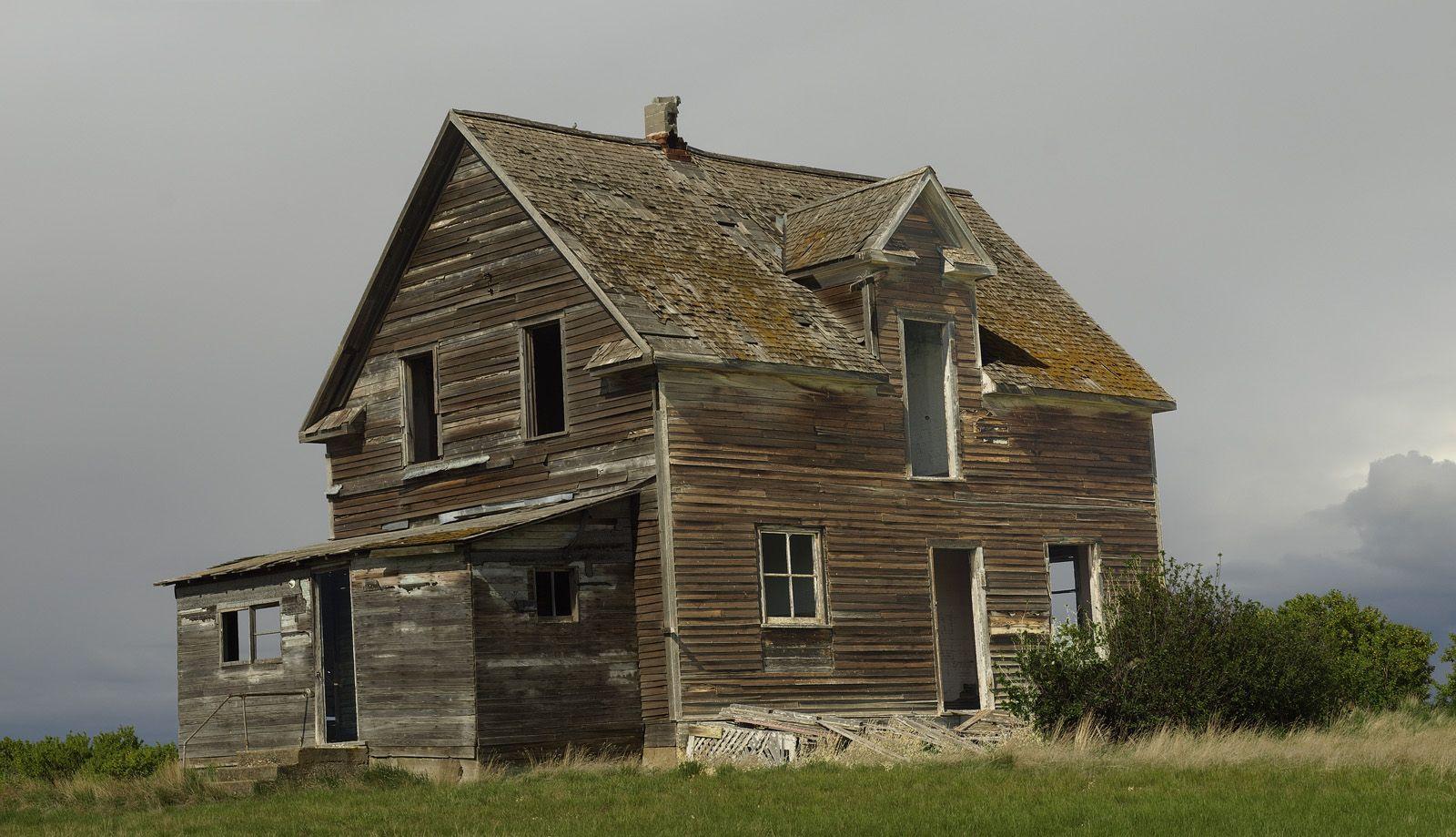 Abandoned Farm Houses