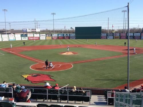 Nice Day At The Ballpark As Lamar Took On Columbia Sports Texas Sports Beaumont