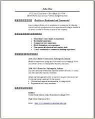 Bricklayer Resume  Mba