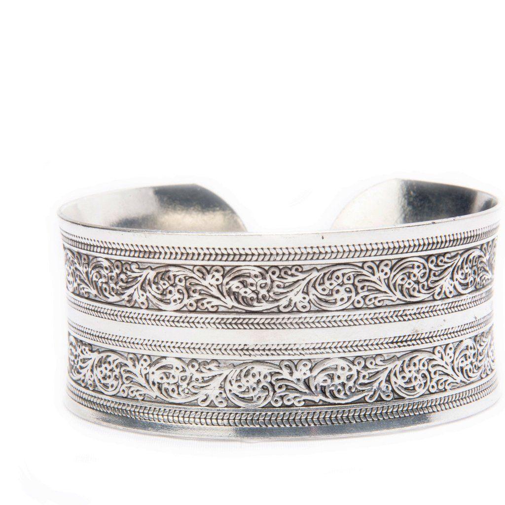 Maya tibetan silver cuff bracelet products