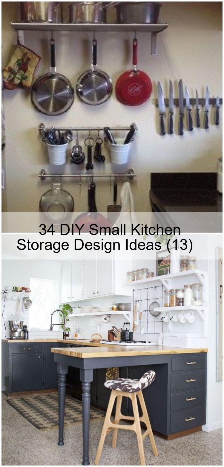 9 DIY Small Kitchen Storage Design Ideas 9 , design DIY ...