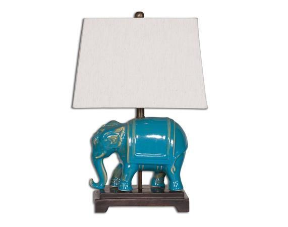 Pradesh Blue Ceramic Table Lamp