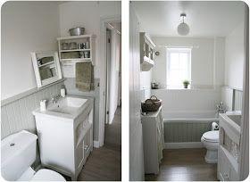 Shabby chic interiors progettare due bagni shabby chic