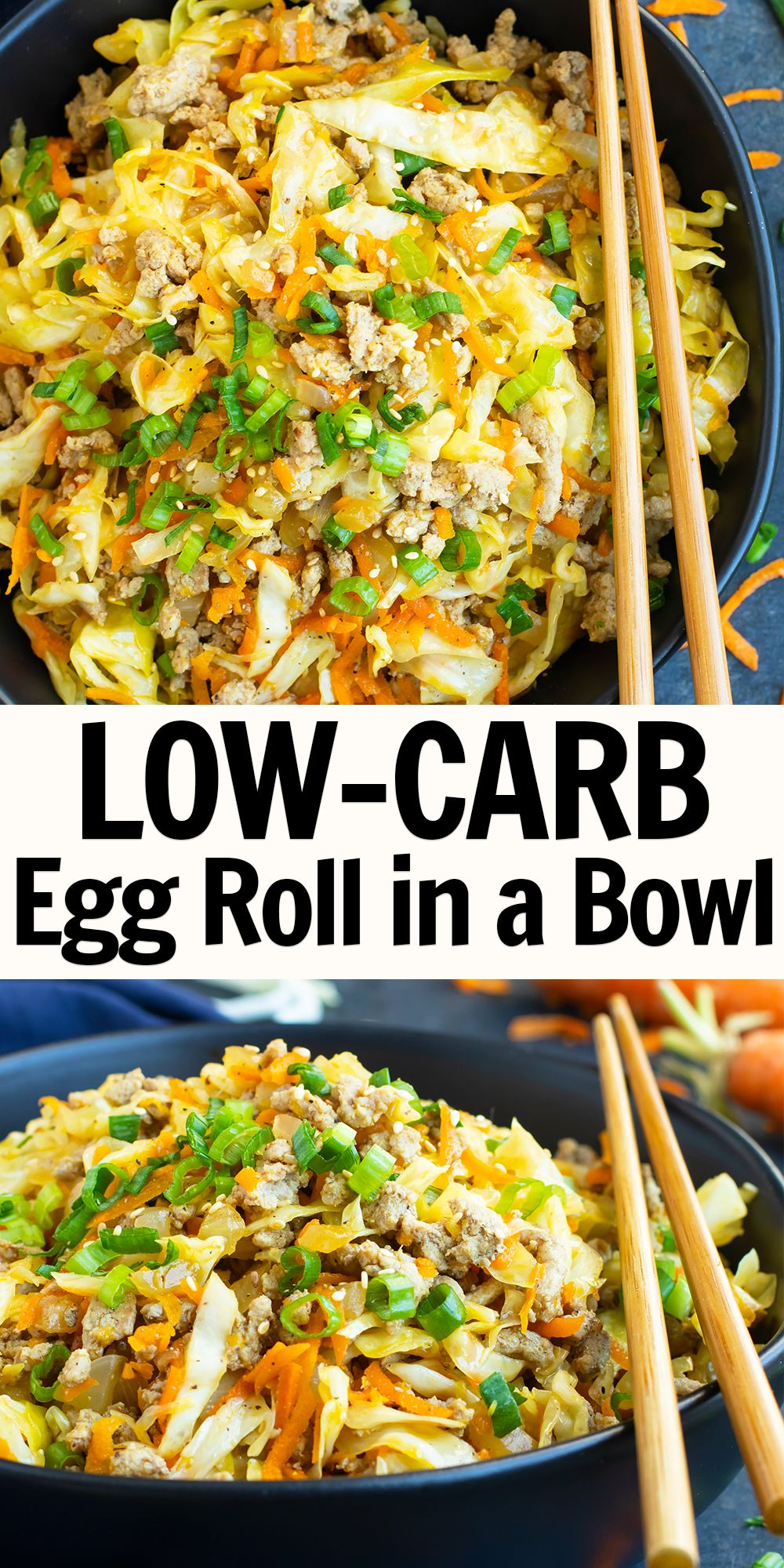 Photo of Egg Roll in a Bowl | Low-Carb
