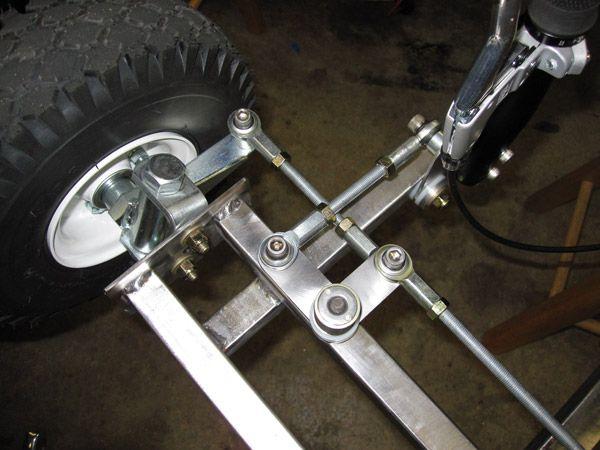 The Lightest Cheapest Reverse Trike 40lbs 350 00 Diy Go Kart Forum Go Kart Steering Go Kart Plans Homemade Go Kart
