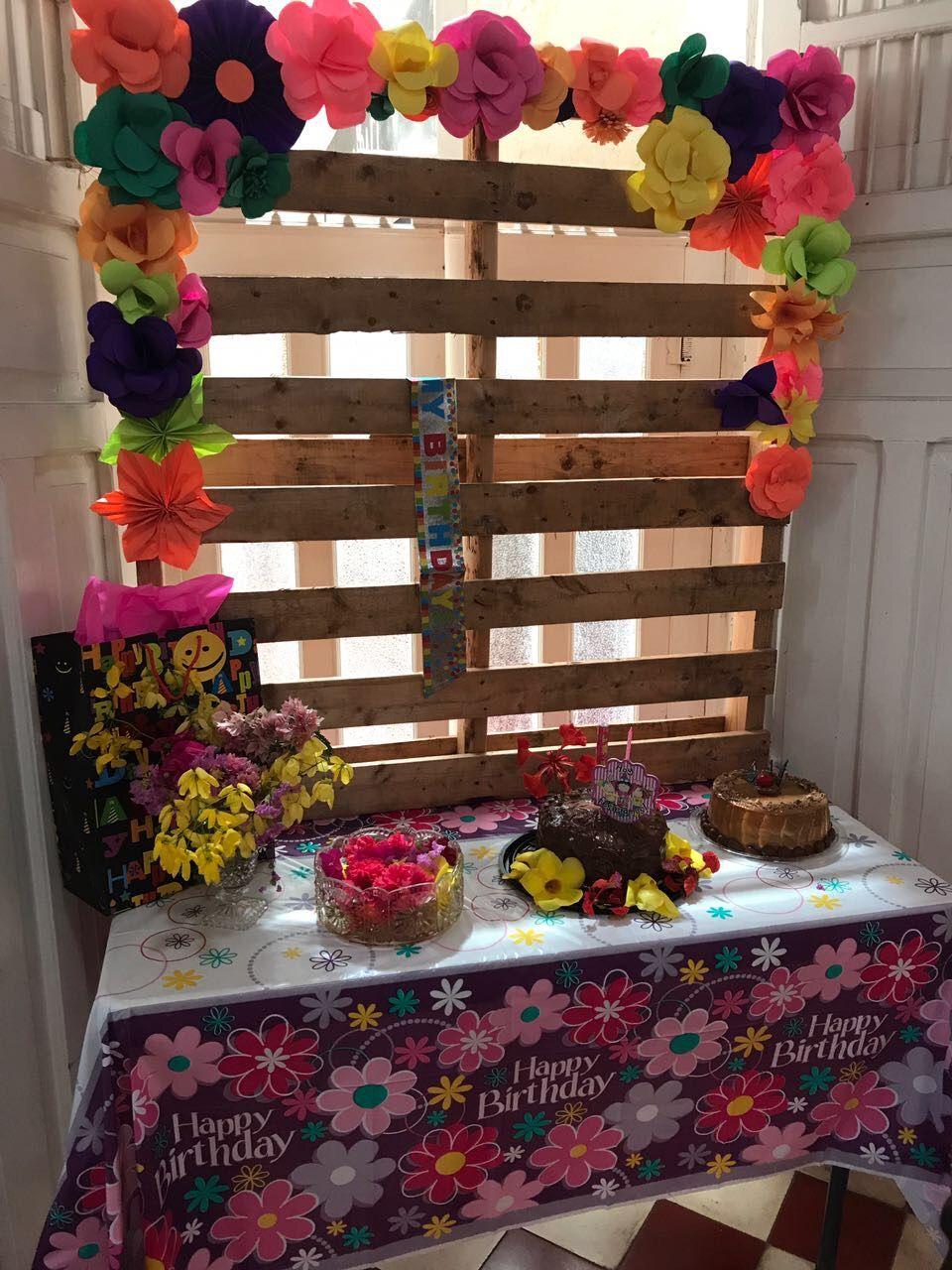 Mesa de dulces de fiesta típica Yucateca  Flory Hagar