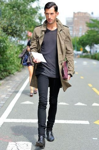 Which Skinny Jeans To Wear With Black Leather Chelsea Boots