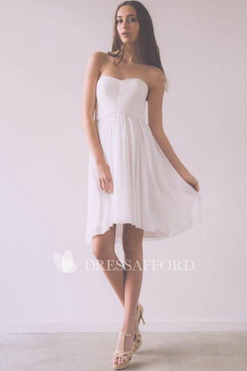 Strapless Short Chiffon Dress With Criss Cross And Zipper Chiffon Dress Short Chiffon White Dress Wedding Dresses Brisbane [ 1239 x 826 Pixel ]