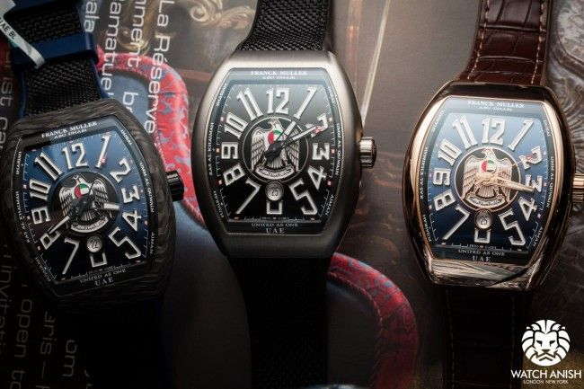 Franck Muller Limited Edition For Uae Watches Dream Watches