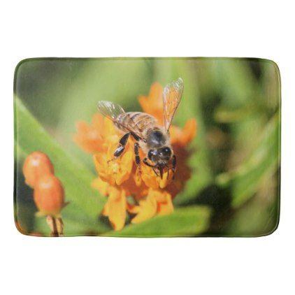 Honey Bee Bathroom Mat