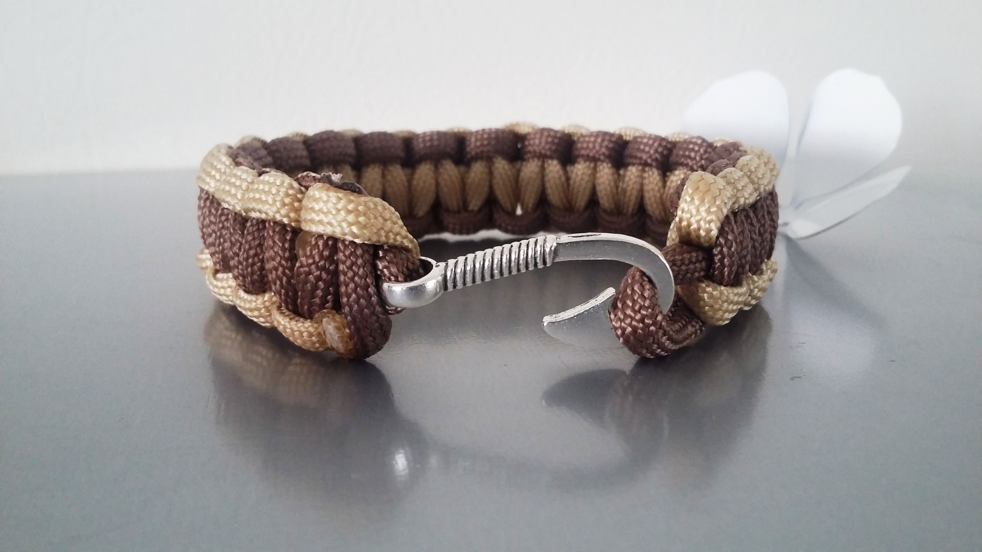 Chaîne de Bracelet en Caoutchouc Corde de Bracelet avec Fermoir Accessoires