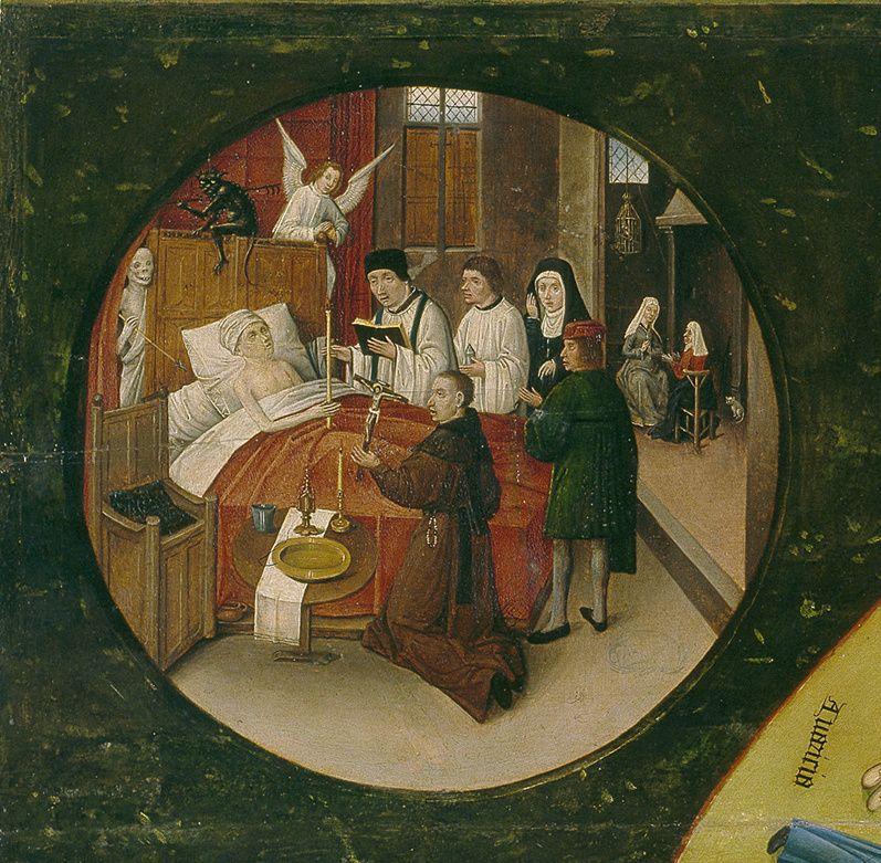 Los siete pecados capitales la muerte el bosco - La mesa de los pecados capitales ...