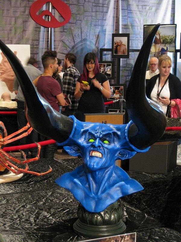 Tim Curry S Demonic Creature From Legend 1985 Blue