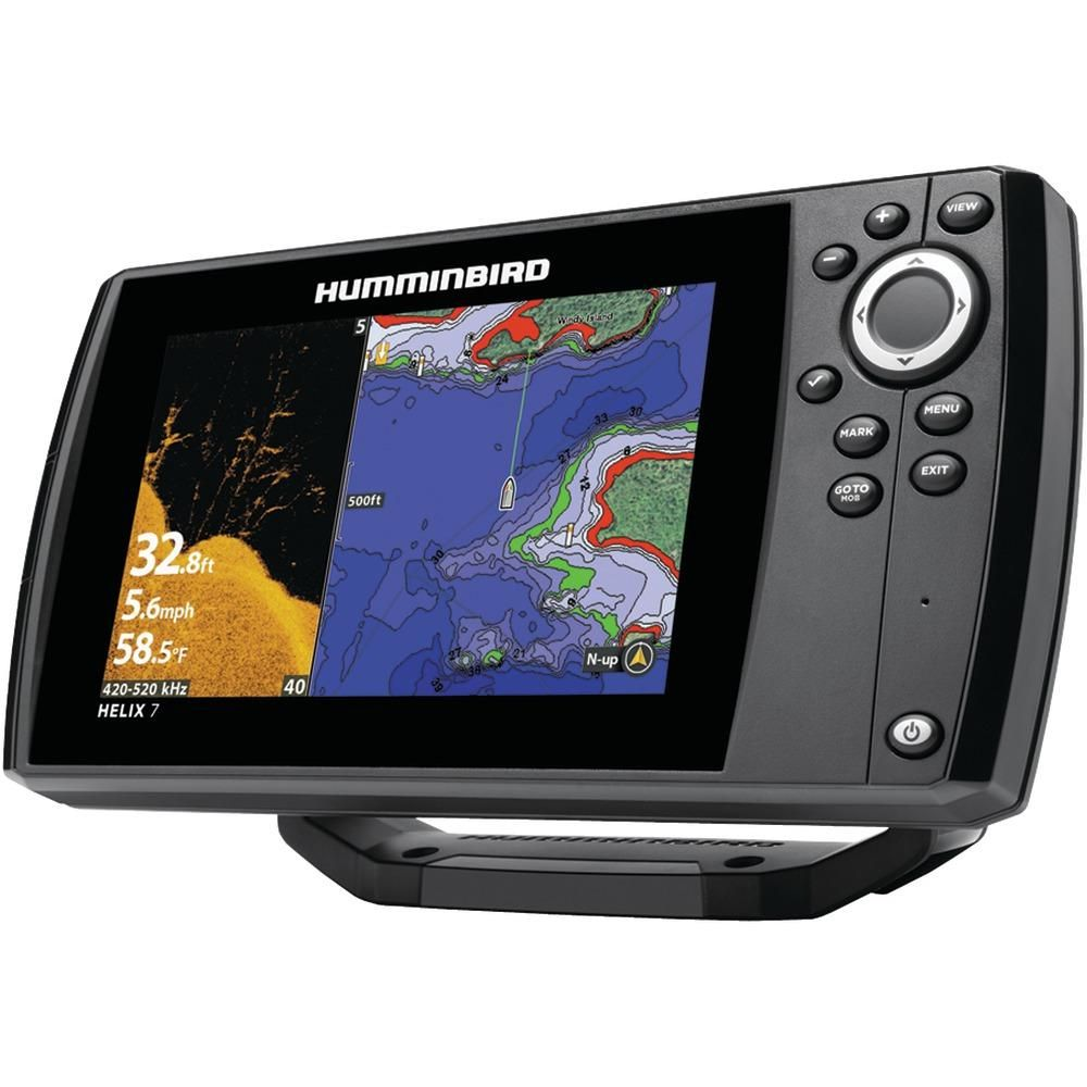 Humminbird Helix 7 Chirp Di Gps G2n Fishfinder Humminbird Gps Marine Electronics