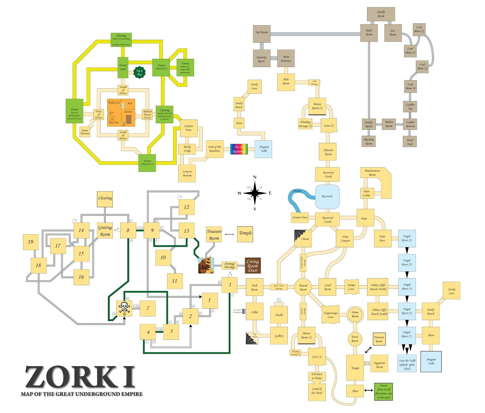 Zork - The Great Underground Empire | D&D - Maps in 2019 | Art ... Zork Map on gears of war map, far cry 2 map, pac-man map, sid meier's alpha centauri map, the great maze map, return to zork, civilization map, portal map, zork zero, ace combat map, beyond zork, interactive fiction, zork ii, etrian odyssey map, starcraft map, a mind forever voyaging, proving grounds of the mad overlord, colossal cave adventure, dead ops arcade map, zork: the undiscovered underground, galactic empire map, the lost treasures of infocom, zork: nemesis, small amusement park map, pool of radiance map, myst map, world of warcraft map, metal gear solid map, super mario bros. map, the witcher map,