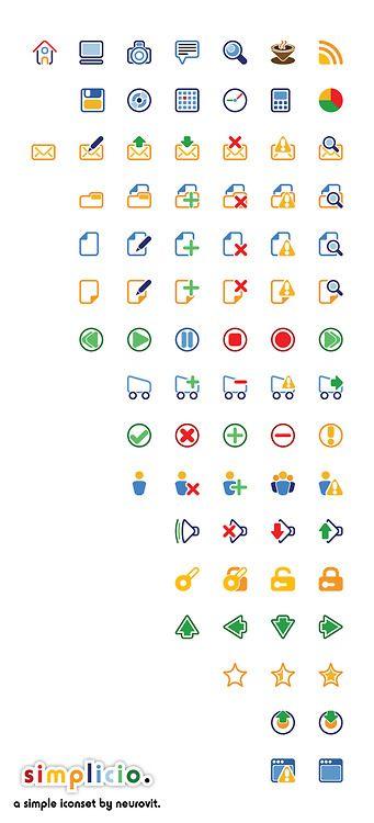 Simplicio - Free Icon Set