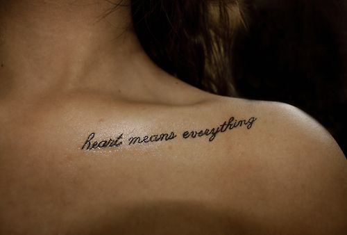 tatouage phrase clavicule femme | citations | pinterest | tattoos