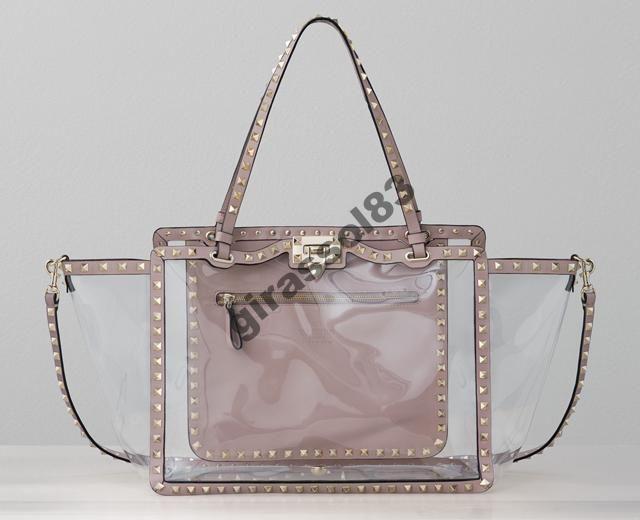 4b819dc7320f сумка прозрачная Valentino Rockstud Naked | Fashion bags | Valentino ...