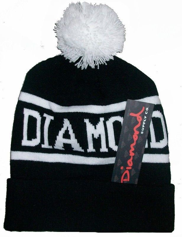 3c80211cf96 Diamond Supply Co Beanie Hat Popular Skullies Beanies Men And Women ...
