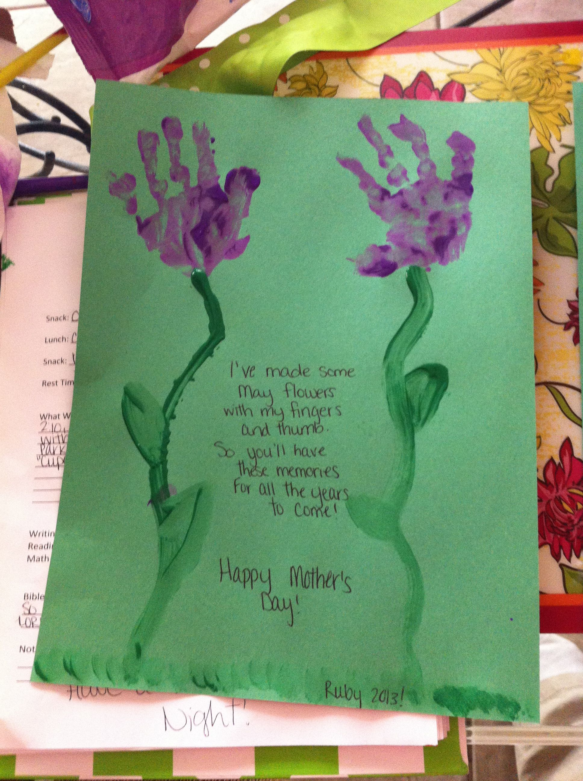 mother day craft ideas for infants ruby s s day s day 7826