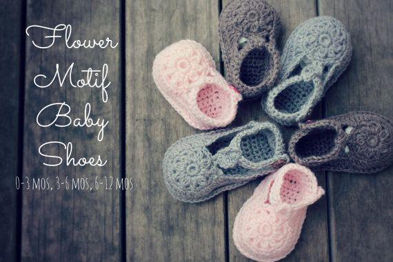 Download Now CROCHET PATTERN Flower Motif Baby by hollanddesigns ...