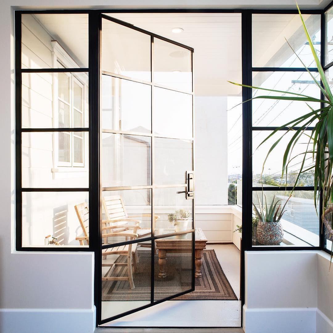 A Steel Door At Golden Hour Is Just The Dreamiest