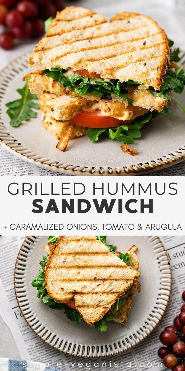 Photo of Grilled Hummus Sandwich