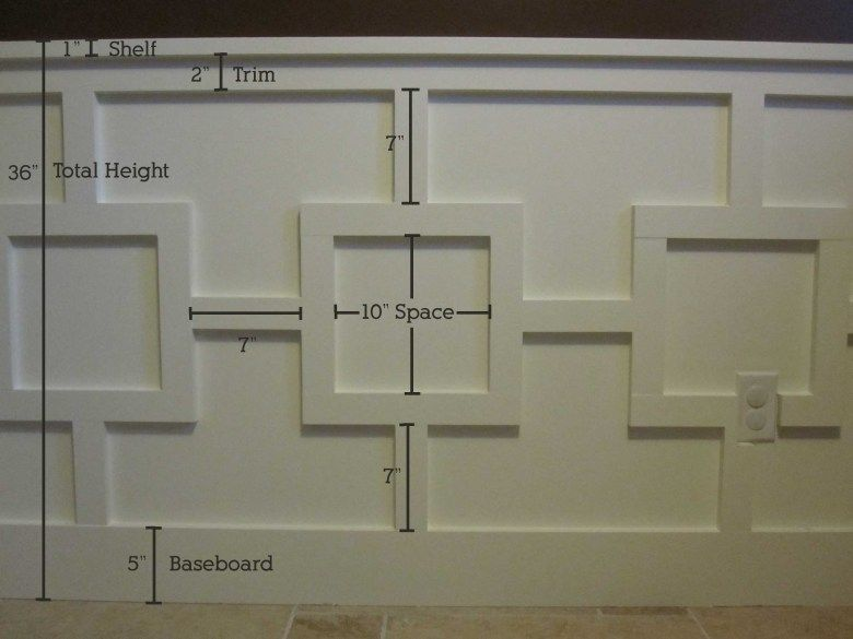 Chair Rail And Wall Trim Part - 22: Awesome Chair Rail And Wall Detail... One Hell Of A Lot Of Work