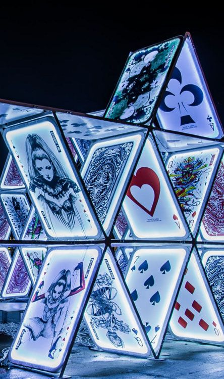 House of Cards - Amsterdam Light Festival by Wim Van de Water / 500px