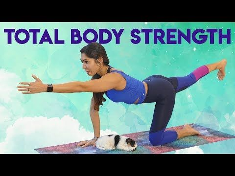 30 minute power yoga workout ♥ total body strength