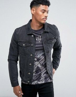Men's Jackets   Coats For Men   ASOS   Men's denim jackets ...