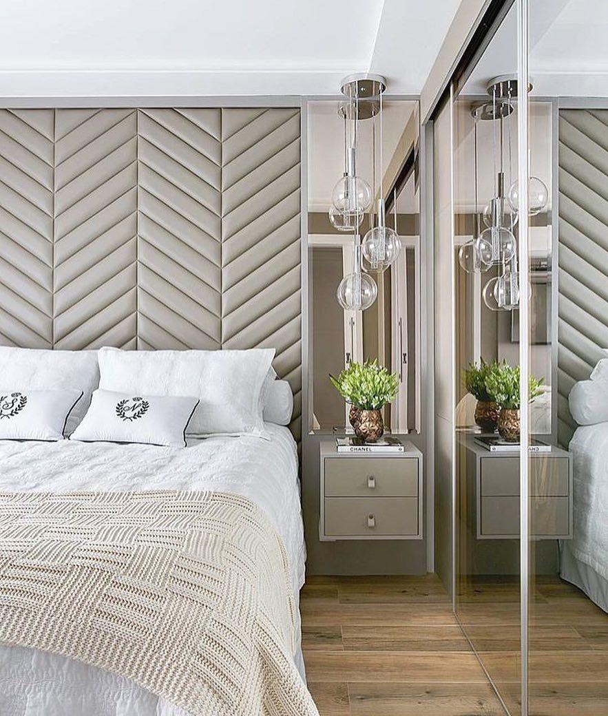Quarto Do Casal Design Interiores Ambientes Tendencia