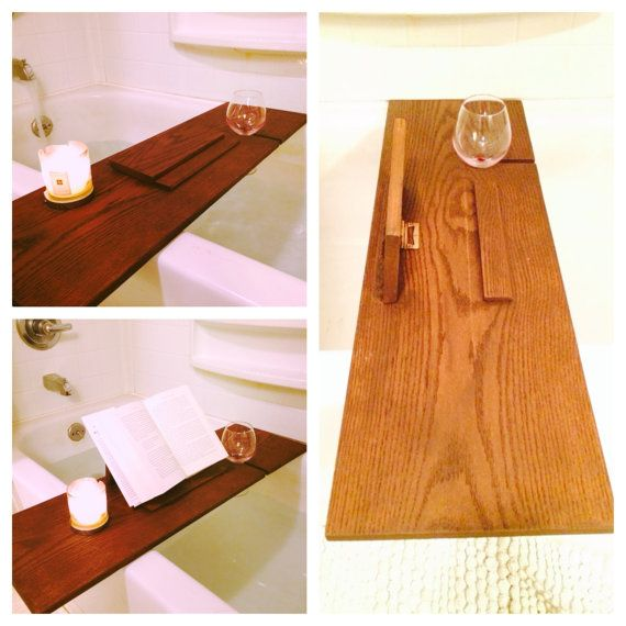 Handcrafted Multipurpose Bath Tub Reading Tray Bath