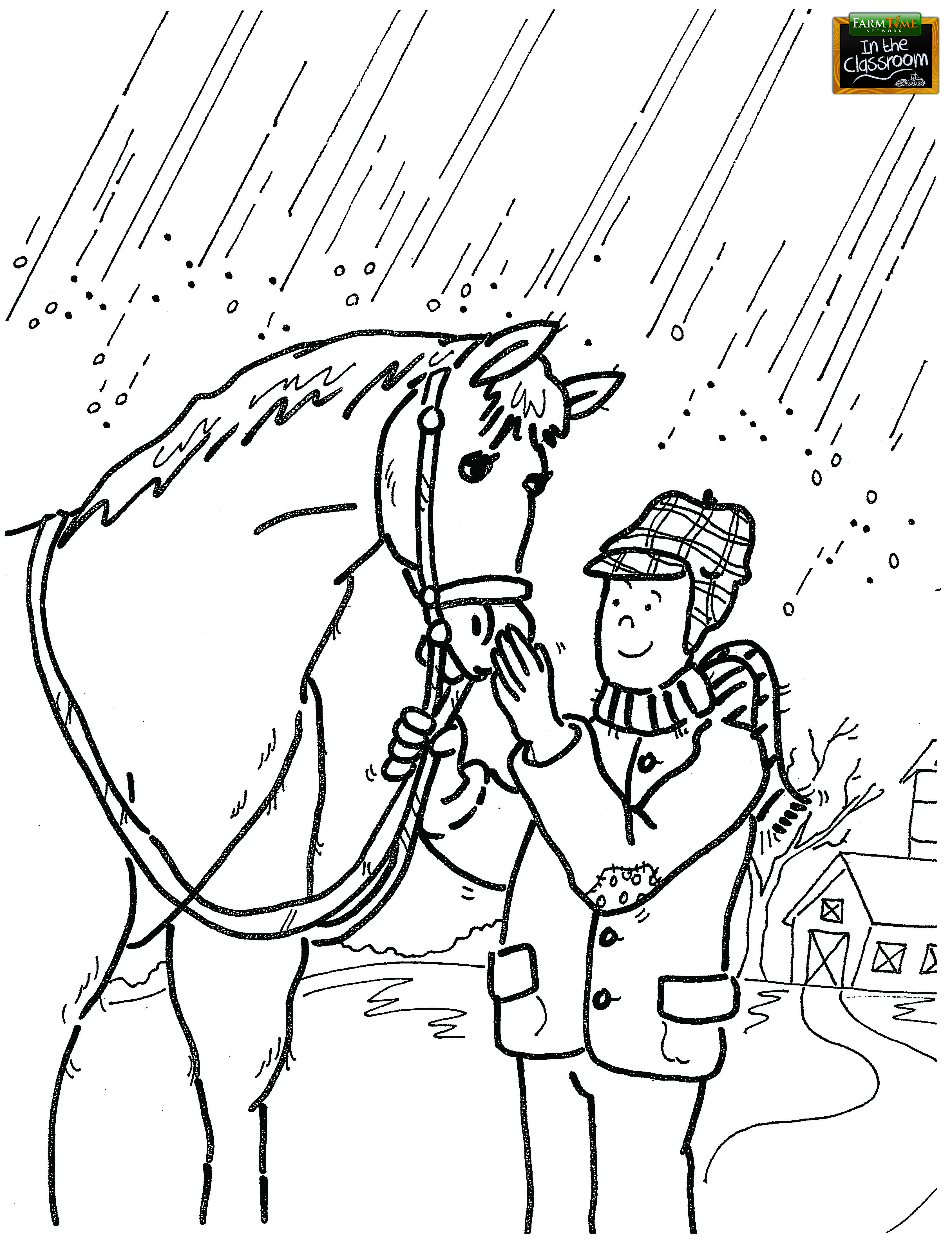 Farmfamilyweek5 Free Printable Coloring Page Coloring Pages For