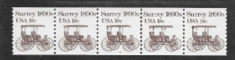 "PNC -- PS5 --  MNH --  Scott # 1907 -- 18c Surrey -- Plate # 2 -- CV 4.00... On eBay now ending soon at ""DandeoneStamps""  Cheers,  Dave"
